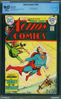 Bronze Age (1970-1979):Superhero, Action Comics #432 - CBCS CERTIFIED (DC, 1974) CGC VF/NM 9.0 White pages.