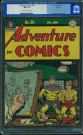 Golden Age (1938-1955):Superhero, Adventure Comics #90 - Rockford Pedigree (DC, 1944) CGC NM- 9.2 Cream to off-white pages.