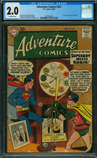 Adventure Comics #253 (DC, 1958) CGC GD 2.0 OFF-WHITE pages
