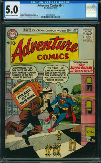 Adventure Comics #241 (DC, 1957) CGC VG/FN 5.0 Cream to light tan pages