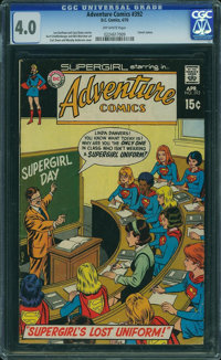 Adventure Comics #392 (DC, 1970) CGC VG 4.0 Off-white pages