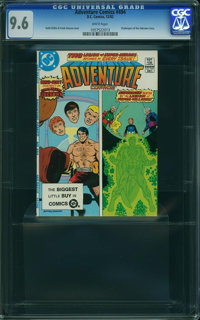 Adventure Comics #494 (DC, 1982) CGC NM+ 9.6 White pages