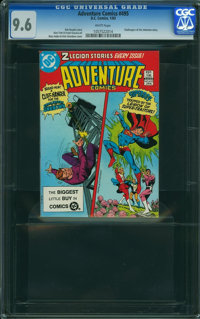 Adventure Comics #495 (DC, 1983) CGC NM+ 9.6 White pages