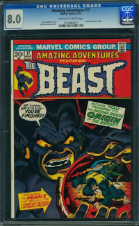Amazing Adventures #17 (Marvel, 1973) CGC VF 8.0 OFF-WHITE TO WHITE pages