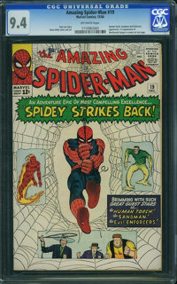 The Amazing Spider-Man #19 (Marvel, 1964) CGC NM 9.4 Off-white pages