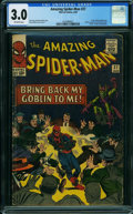 Silver Age (1956-1969):Superhero, The Amazing Spider-Man #27 (Marvel, 1965) CGC GD/VG 3.0 Off-white pages.