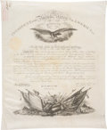 Autographs:U.S. Presidents, James K. Polk Military Appointment Signed...