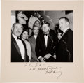 "Autographs:U.S. Presidents, John F. Kennedy Photograph Inscribed and Signed ""For T..."