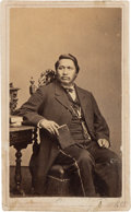 Photography:CDVs, Ely Parker Signed Carte de Visite