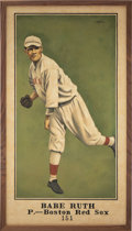 Baseball Collectibles:Others, 2019 Babe Ruth 1916 Sporting News Original Artwork by Arth...