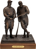 Baseball Collectibles:Others, 1999 Babe Ruth & Lou Gehrig Bronze Statue by Palmer Murphy...