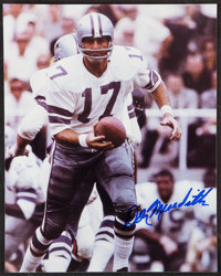 Don Meredith Signed Photograph