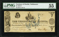 Tallahassee, FL- Territory of Florida $5 Jan. 8, 1830 Cr. T11 Benice 9 PMG About Uncirculated 55