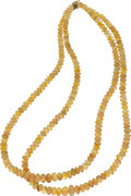 Estate Jewelry:Necklaces, Opal, Gold Necklace . ...