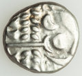 Ancients: BRITAIN. Durotriges. Ca. 60-20 BC. AV (white gold) stater (19mm, 5.75 gm, 1h). AU