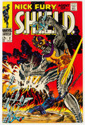 Silver Age (1956-1969):Superhero, Nick Fury, Agent of S.H.I.E.L.D. #2 (Marvel, 1968) Condition: NM-....