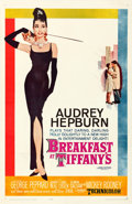 "Movie Posters:Romance, Breakfast at Tiffany's (Paramount, 1961). Very Fine- on Linen. One Sheet (27"" X 41.5""). Robert McGinnis Artwork.. ..."
