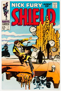 Nick Fury, Agent of S.H.I.E.L.D. #7 (Marvel, 1968) Condition: NM