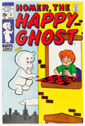 Bronze Age (1970-1979):Humor, Homer, the Happy Ghost V2#3 (Marvel, 1970) Condition: NM-....