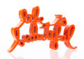 Collectible, Mr. Brainwash (b. 1966). Life is Beautiful (Orange), 2015. Painted cast resin. 10-1/2 x 17-1/2 x 4 inches (26.7 x 44.5 x...