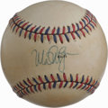 Autographs:Baseballs, Mark McGwire Single Signed '84 Olympics Baseball. Official baseball from the XXIIIrd Olympiad held in 1984 that we make ava...