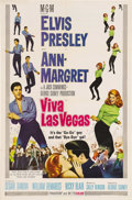"Movie Posters:Elvis Presley, Viva Las Vegas (MGM, 1964). One Sheet (27"" X 41"") Style A. Elvis and Ann-Margret -- what a combination for one of the better..."