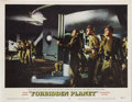 "Movie Posters:Science Fiction, Forbidden Planet (MGM, 1956). Lobby Cards (2) (11"" X 14""). Thoughthe 3D craze had recently ended, when this film was first ...(Total: 2 Items)"