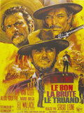 "Movie Posters:Western, The Good, The Bad and the Ugly (United Artists, 1968). French Grande (47"" X 63""). The final film in Sergio Leone's ""Man With..."