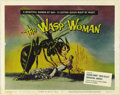 "Movie Posters:Science Fiction, The Wasp Woman (Film Group, Inc., 1959). Title Lobby Card (11""x14"") and Lobby Card (11"" X 14""). Susan Cabot stars as a cosm...(Total: 2 Items)"