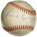 Autographs:Baseballs, 1950's Branch Rickey Signed Baseball. The look of a $4,000 singlewithout the price tag to match! The Hall of Famer best re...