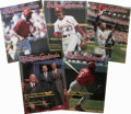 Autographs:Others, 1996-97 Signed St. Louis Cardinals Magazines Lot of 16. Here we offer a group of 16 St. Louis Cardinals Magazine issues,...