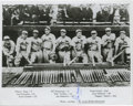 "Autographs:Photos, Joe Medwick Signed Photograph. Here we see an excellent 8x10"" printfeaturing the Gashouse Gang Cardinals, the 1934 squad t..."