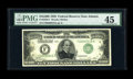Small Size:Federal Reserve Notes, Fr. 2230-F $10000 1928 Federal Reserve Note. PMG Choice Extremely Fine 45.. This serial number F00000016A $10,000 note incre...