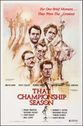 "Movie Posters:Sports, That Championship Season & Other Lot (Cannon, 1982). Rolled, Very Fine-. One Sheets (2) (27"" X 41""). Sports.. ... (Total: 2 Items)"