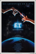 """Movie Posters:Science Fiction, E.T. The Extra-Terrestrial & Other Lot (Universal, 1982). Rolled, Very Fine-. One Sheets (2) (27"""" X 40"""" & 27"""" X 41"""")...."""