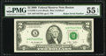 Fr. 1939-A $2 2009 Federal Reserve Note. PMG About Uncirculated 55 EPQ