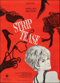 "Movie Posters:Foreign, Strip Tease (SNC, 1963). Folded, Fine/Very Fine. French Grande (45.25"" X 62.25""). Foreign.. ..."