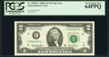 Fr. 1938-F* $2 2003A Federal Reserve Note. PCGS Very Choice New 64PPQ