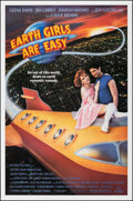 Movie Posters:Science Fiction, Earth Girls Are Easy & Other Lot (Vestron, 1989). Rolled, ...