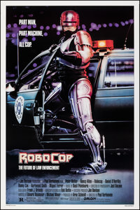 "RoboCop (Orion, 1987). Rolled, Very Fine/Near Mint. One Sheet (27"" X 41"") SS. Mike Bryan Artwork. Action"