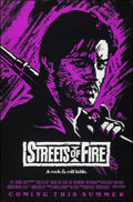 "Movie Posters:Action, Streets of Fire (Universal, 1984). Rolled, Very Fine+. One Sheet (27"" X 41"") Advance, Purple Style. Action.. ..."