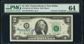 Small Size:Federal Reserve Notes, Francine I. Neff Courtesy Autographed Fr. 1935-K* $2 1976 Federal Reserve Note. PMG Choice Uncirculated 64.. ...