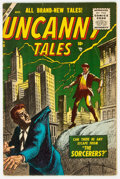 Golden Age (1938-1955):Science Fiction, Uncanny Tales #36 (Atlas, 1955) Condition: FN....