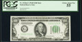Small Size:Federal Reserve Notes, Fr. 2154-G $100 1934B Federal Reserve Note. PCGS Choice About New 55.. ...