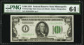 Fr. 2152-I $100 1934 Dark Green Seal Federal Reserve Note. PMG Choice Uncirculated 64 EPQ