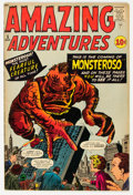 Silver Age (1956-1969):Horror, Amazing Adventures #5 (Marvel, 1961) Condition: FN-....
