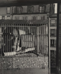 André Breton (French, 1800-1870) La Cage, 1948 Gelatin silver, printed later 8-5/8 x 7-1/4 inches (21.9 x 18.4 cm...