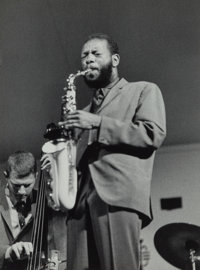 Jim Marshall (American, 1936-2010) Ornette Coleman, 1960 Gelatin silver 9-1/2 x 7 inches (24.1 x 17.8 cm) Signed, ti