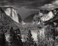 Photographs, Ansel Adams (American, 1902-1984). Thunderstorm, Yosemite Valley, California, 1945. Gelatin silver, printed later by Ala...