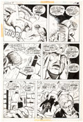Original Comic Art:Panel Pages, Bob Brown and Vince Colletta Frankenstein #11 Story Page 12 Original Art (Marvel Comics, 1974)....